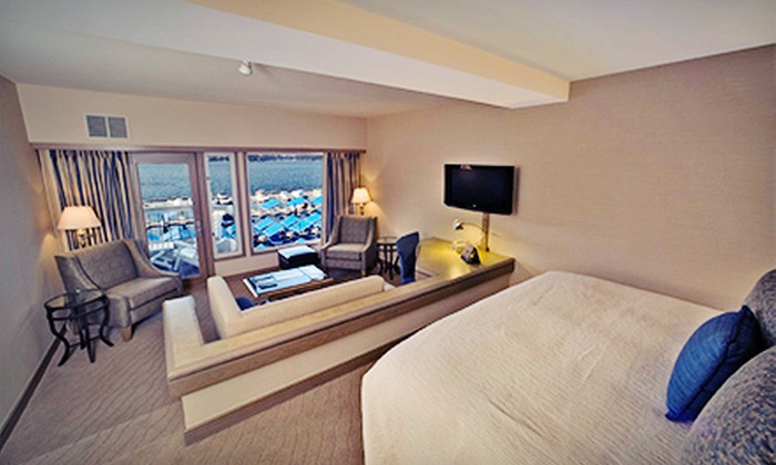 The Coeur d'Alene Resort - Coeur d'Alene: $139 for a One-Night Stay for Up to Four in a Lake Tower Lake-View Room at The Coeur d'Alene Resort (Up to $289 Value)