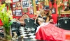 RazzleDazzle - Multiple Locations: Men's Haircuts and Shaves at RazzleDazzle Barber Shop (Up to 55% Off)