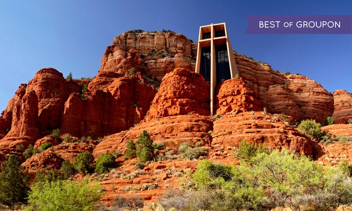 Arizona Tour & Travel - Phoenix: All-Day Sedona Red Rock Tour for Two or Four with Optional Jeep Ride from Arizona Tour & Travel (Up to 41% Off)
