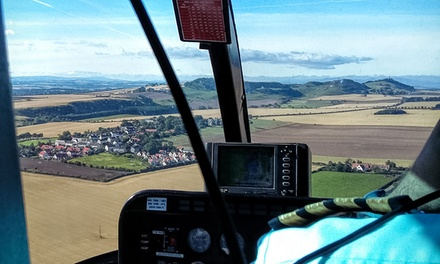 Helicopter Flight with Bubbly
