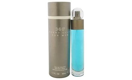 360º by Perry Ellis Eau de Toilette for Men; 1 or 1.7 Fl. Oz. from $12.99–$19.99