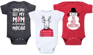 Infant Holiday Bodysuit