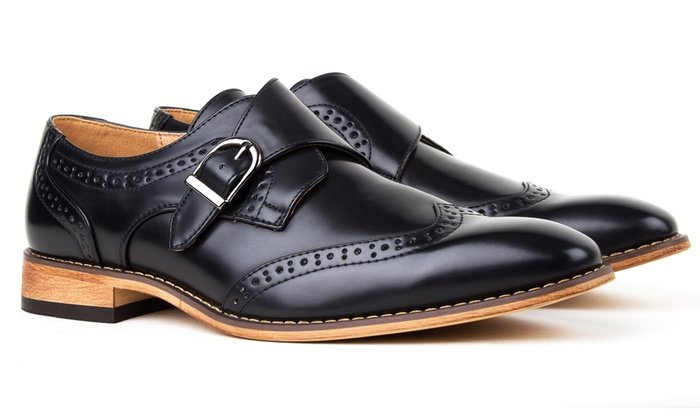 Gino Vitale Men S Dress Brogue Shoes