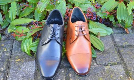 Lamazihandgemachte Derby-Schuhe für Herren in der Größe und Farbe nach Wahl (Sie sparen: 68%)