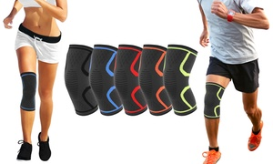 DCF Knee Compression Support Sleeve with Gel Grip