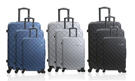 3-teiliges Koffer-Set Verone in der Farbe nach Wahl (82% sparen*)