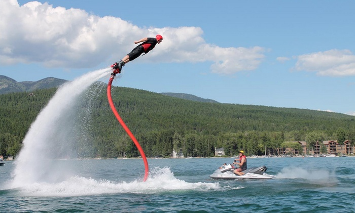 FlyBoard of Montana - Whitefish: 30- or 60-Minute Flyboard Flight at Flyboard of Montana (34% Off)