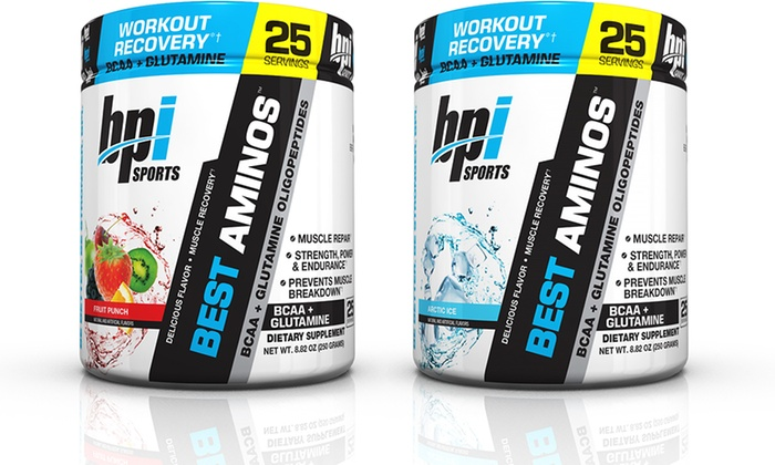 Up To 55% Off on BPI SPORTS Amino Acid Supplement | Groupon Goods