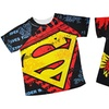 Batman and Superman Toddler Boys' T-Shirts (2-Pack)