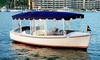 Lake Norman Duffy Boat Rentals - Lake Norman Duffy Boat Rentals: Two-Hour Electric-Boat Rental from Lake Norman Duffy Boat Rentals (Up to 46% Off). Three Options Available.
