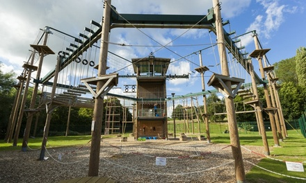 Rope Course Experience for One or Two at Conkers
