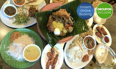 Two Course Sri Lankan Meal for 2 ($29) or 4 People ($58) at Award Winning 7 Siri Taste Of Sri Lanka (Up to $108 Value)
