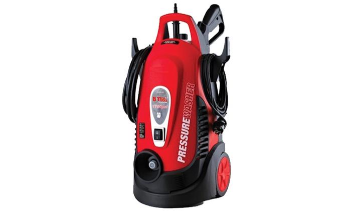 מכונת שטיפה חזקה 1500W בלחץ בר 150 כולל מיכל סבון מובנה, צינור 2 מטר, אקדח תעשייתי 2 מצבים ועוד ב-499 ₪ בלבד