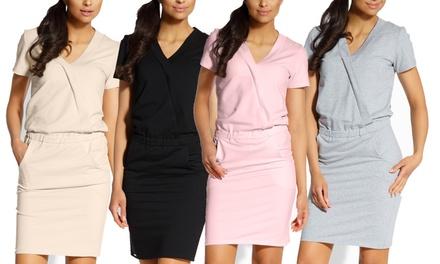 Elegante Alex jurk, beschikbaar in 4 kleuren