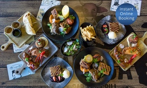 La Boca Bar and Grill: Two-Course Argentinian Dinner for Two ($59), Four ($118) or Six ($177) at La Boca Bar and Grill (Up to $330 Value)