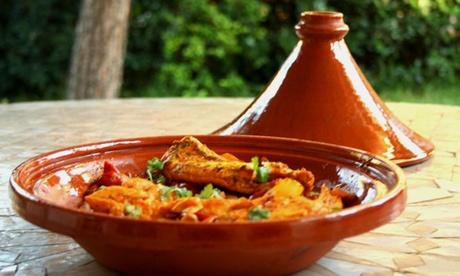 Menú marroquí para 2 o 4 personas con entrante, principal, postre y bebida desde 21,99 € en Diwan Oferta en Groupon
