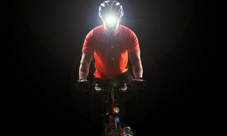 1 o 2 linternas LED frontal de 5000 lúmenes