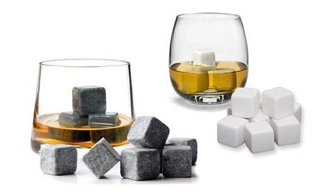 1 o 2 sets de 9 piedras para whisky