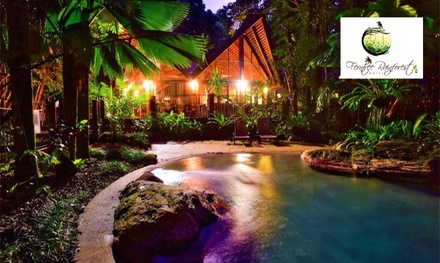 Cape Tribulation: 1- to 3-Night Garden Loft Stay for Two or Four at Ferntree Rainforest Lodge
