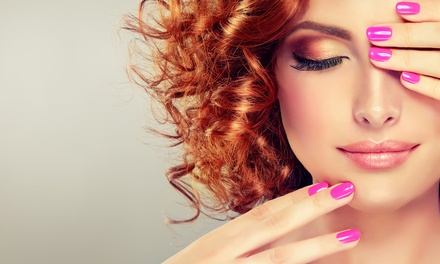 Shellac Manicure, Pedicure or Both at VGmedispa (Up to 78% Off)