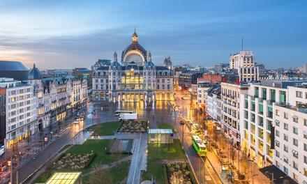 Groupon.it - Anversa: camera per 2 persone con colazione e menu pizza opzionale presso Hampton by Hilton Antwerp Central Station
