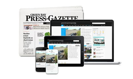 Newspaper Subscription and/or Digital-Access to Green Bay Press (Up to 92% Off). Three Options Available.