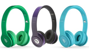 Beats by Dre Solo HD Wired On-Ear Headphones (Refurbished A-Grade)