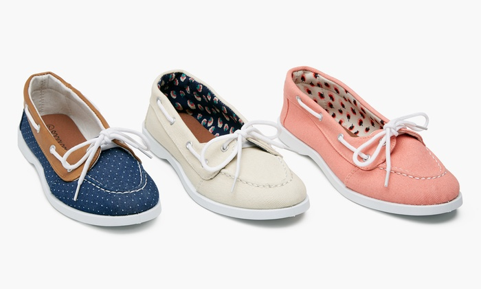 ... Sociology Women's Boat Shoes | Groupon Exclusive: Sociology Women's  Boat Shoes | Groupon Exclusive ...