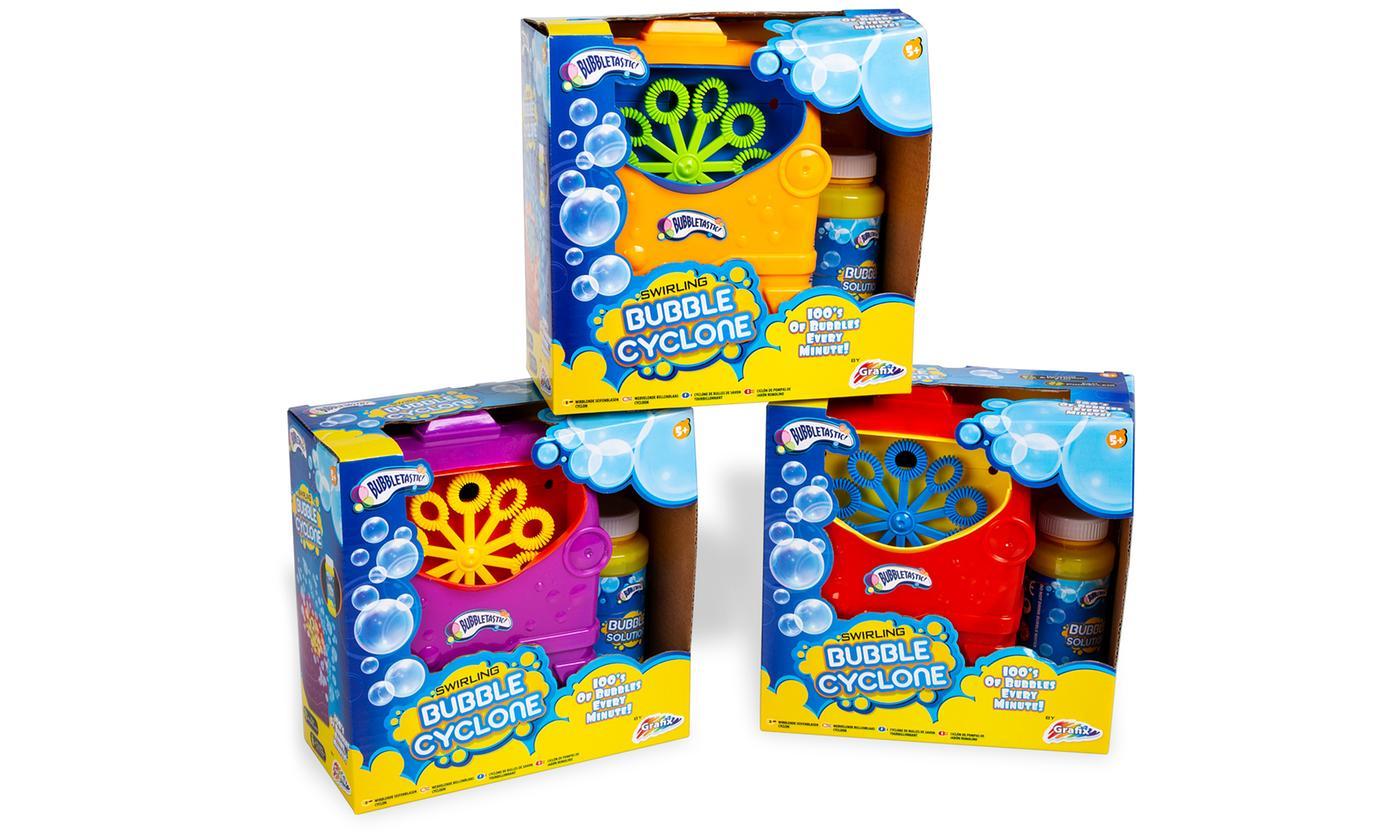 Bubble Cyclone Bubble Machine - assorted colours