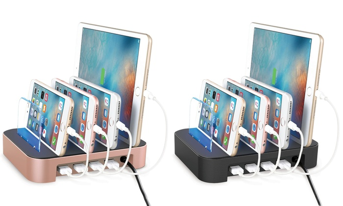 Merkury Innovations 4-Port Charging Station: Merkury Innovations 4-Port Charging Station