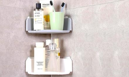 Smart Adhesive Corner Shelf Groupon