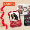 20 or 40 5x7 Square Trim flat cards from Shutterfly