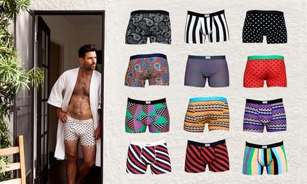 4-er Pack Happy Socks Boxershorts in verschiedenen Modellen (52% sparen*)