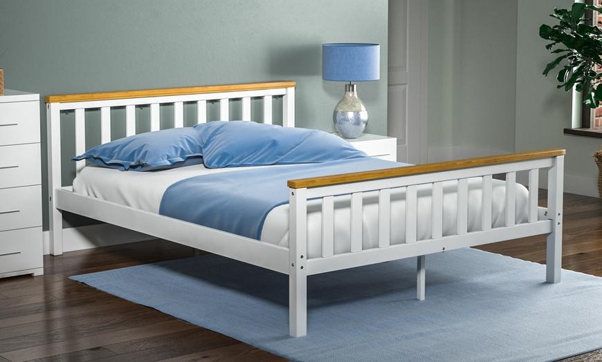 Milan Wooden Bed Frame