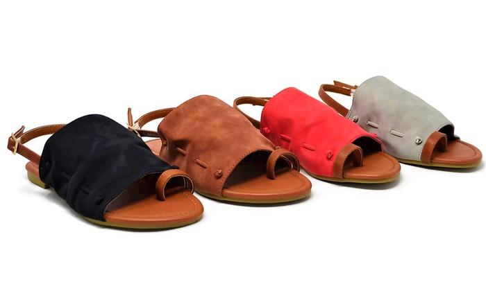 Mata Women's Slingback Open-Toe Sandals