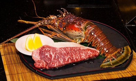 $115 Dish Lobster and Wagyu Teppanyaki Feast for Two at Burwood Teppanyaki House Up to $230 Value