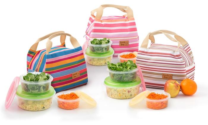 1 ou 2 sacs djeuner Lunchy Bag avec ou sans boites de conservation dès 8.90€ (jusquà 68%)