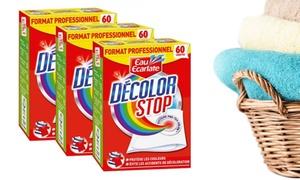 60, 120, 180 ou 240 lingettes Decolor Stop Eau Ecarlate
