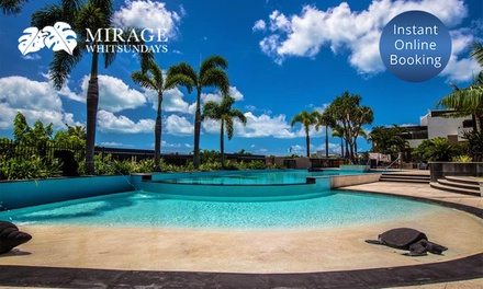 Airlie Beach: 2-4-Night Break for Two or Four People with Breakfast and Late Check-Out at 4* Mirage Whitsundays