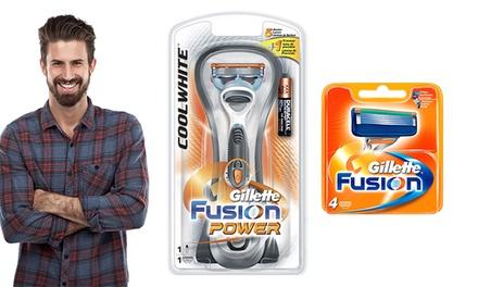 Rasoir Gillette Fusion Power et lames de rechange
