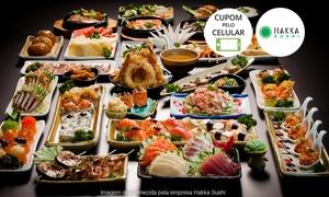 Hakka Sushi: Hakka Sushi – Itaim, Paulista e Vila Olímpia: rodízio japonês com sobremesa à vontade para 1 ou 2 pessoas