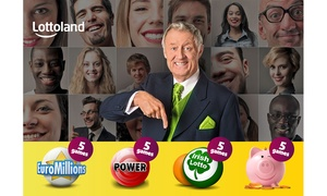 Lottoland: Five Line Bets on EuroMillions, PowerBall, Irish Lotto plus Five Scratchcards from Lottoland (68% Off)
