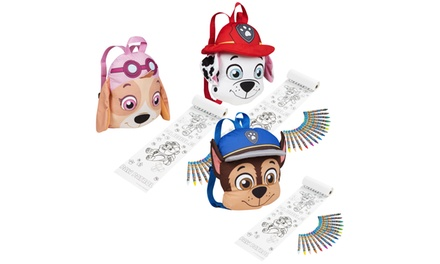 Chase, Skye or Marshall Paw Patrol Plush Backpack with