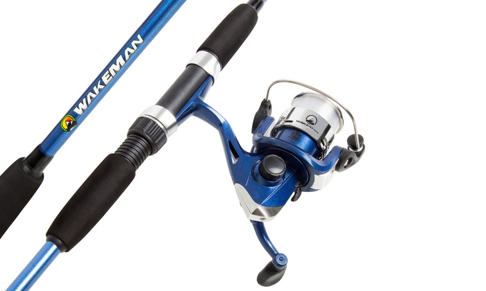 Youth spinning rod and reel groupon goods for Youth fishing rod and reel combo