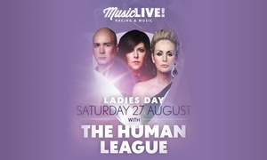 Human League Live: The Human League at Royal Windsor Racecourse, 27 August 2016