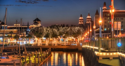 Nights of Lights Boat Cruise Tour for One, Two, or Four People from Red Boat Water Tours (Up to 53% Off)