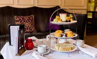 image for Festive Afternoon Tea with Prosecco for Two or Four at Duke's Head Hotel (Up to 49% Off)