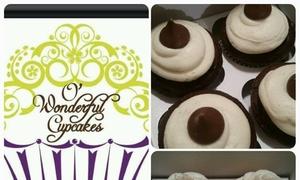 "O' Wonderful Cupcakes: Up to 40% Off Dozen Cupcakes or 6"" Two-Layer Cake at O' Wonderful Cupcakes"
