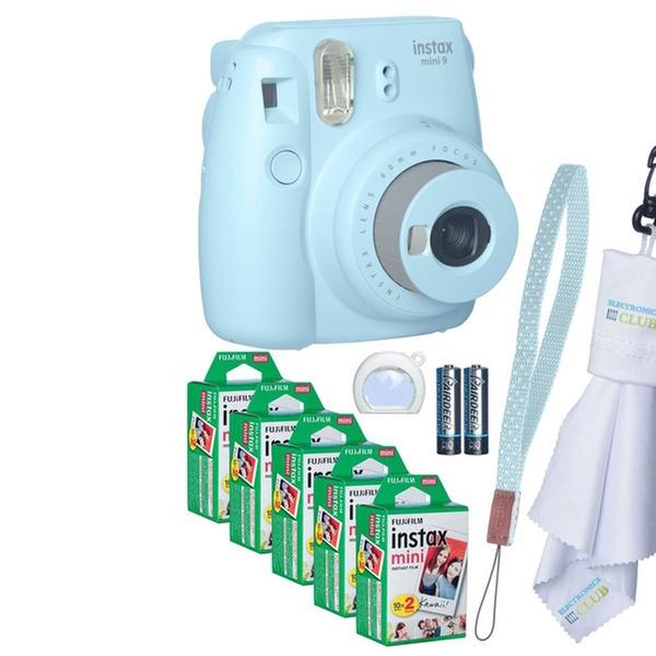 Fujifilm Instax Mini 9 Camera Bundle with Film