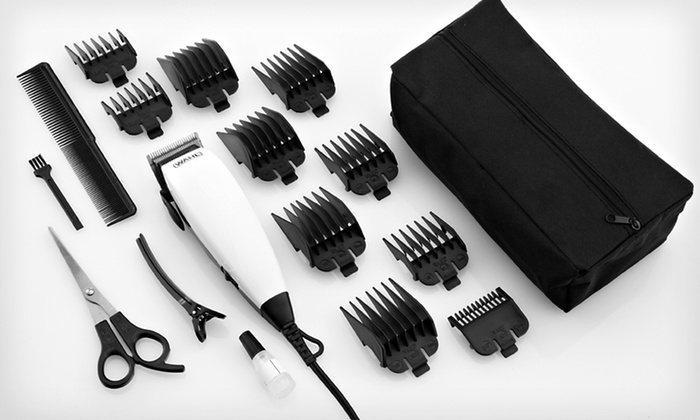 Wahl 18-Piece Haircutting Kit: Wahl 18-Piece Haircutting Kit. Free Returns.